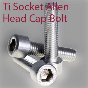 TITANIUM M6 X 35MM ALLEN TAPER HEAD BOLT Grade 5